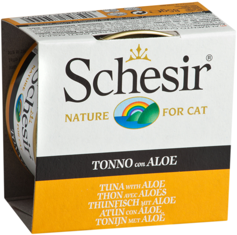 Schesir Tuna with Aloe Canned Cat Food
