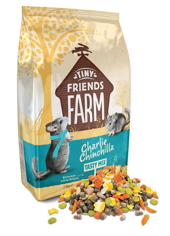 Supreme Tiny Friends Farm Charlie Chinchilla Tasty Mix Chinchilla Food