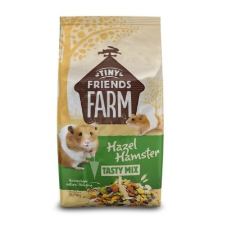 Supreme Tiny Friends Farm Hazel Hamster Tasty Mix Hamster Food