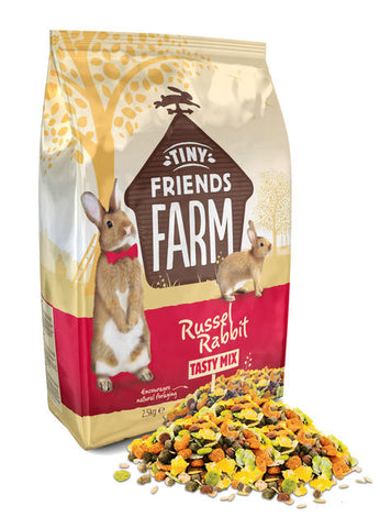 Supreme Tiny Friends Farm Russel Rabbit Tasty Mix Rabbit Food