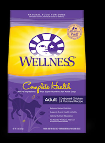WELLNESS COMPLETE HEALTH Chicken Dry Dog Food for All Life Stages