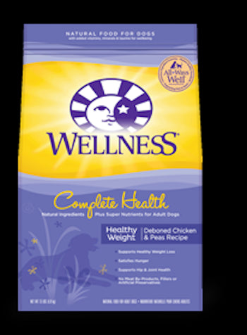 WELLNESS COMPLETE HEALTH Healthy Weight Dry Diet and Weight Management Food for All Life Stages - Canadian Pet Connection