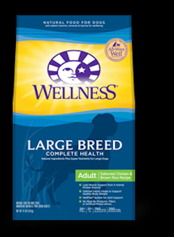 WELLNESS COMPLETE HEALTH Large Breed Adult Dog Food - Complete Health Dry Dog Food