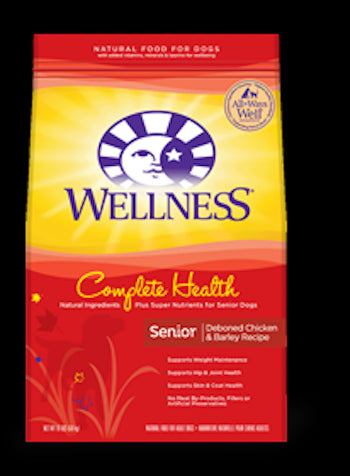 WELLNESS COMPLETE HEALTH Senior Dry Dog Food - Canadian Pet Connection
