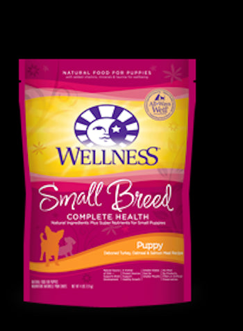 WELLNESS COMPLETE HEALTH Small Breed Puppy Dry Dog Food