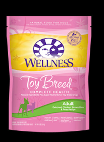 WELLNESS COMPLETE HEALTH Toy and Small Breed Chicken Dry Adult Dog Food - Canadian Pet Connection