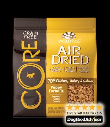 WELLNESS CORE GRAIN FREE Air Dried Puppy Dry Dog Food - Canadian Pet Connection