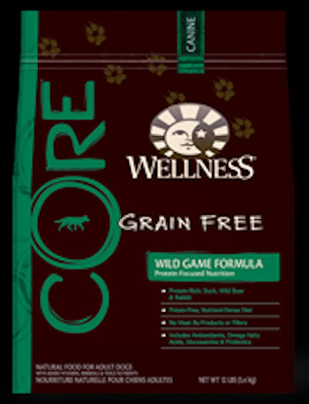 WELLNESS CORE GRAIN FREE Wild Game Formula Dry Dog Food for All Life Stages - Canadian Pet Connection