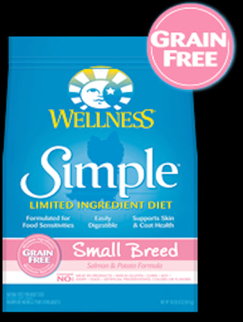 WELLNESS CORE SIMPLE SOLUTIONS Small Breed Salmon and Potato Dry Dog Food for All Life Stages - Canadian Pet Connection