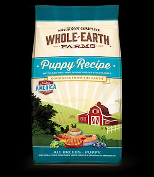WHOLE EARTH FARMS Dog Food Puppy Formula by Merrick