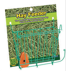 Ware Chew Proof Hay Feeder with Salt Lick for Small Animals