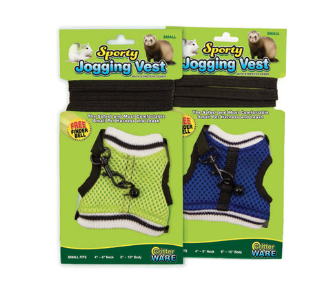 Ware Jogging Harness and Leash for Ferrets and Small Animals