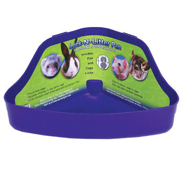 Ware Lock N Litter Ferret and Small Animal Litter Pan