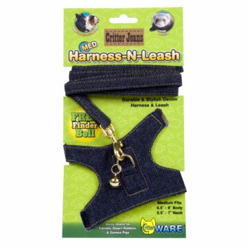 Ware Small Animal and Ferret Harness and Leash Combo