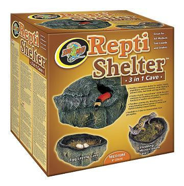 ZOO MED Repti Shelter™ 3 in 1 Cave and Habba Hut