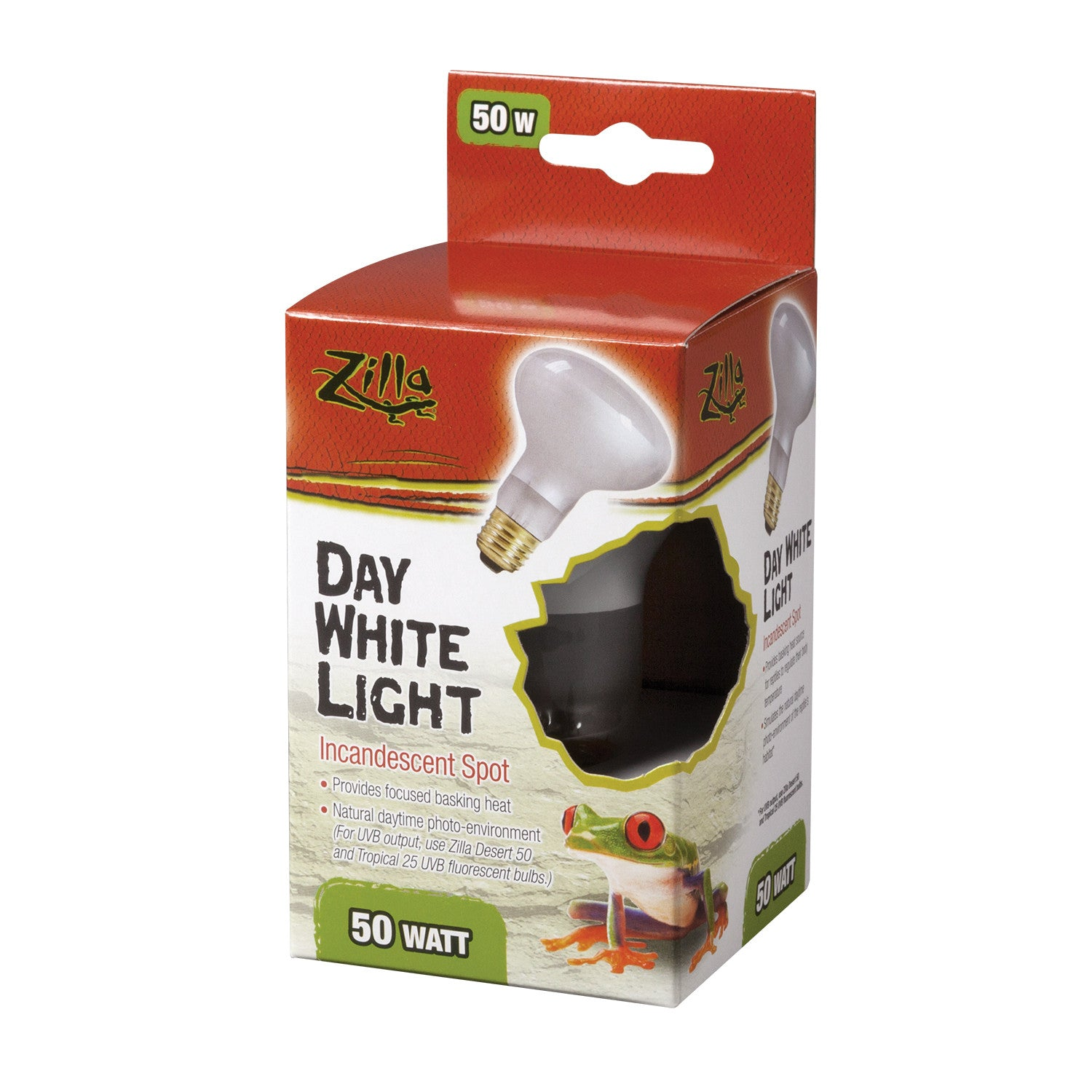 Zilla Day White Incandescent Terrarium Spot Light Bulb - Canadian Pet Connection