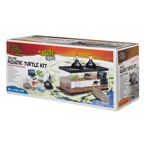 Zilla Deluxe Aquatic Turtle Kit
