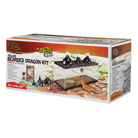 Zilla Deluxe Bearded Dragon Kit