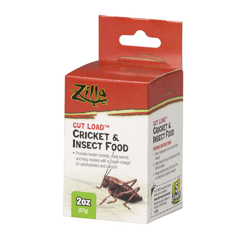 Zilla Gut Load Cricket and Insect Food