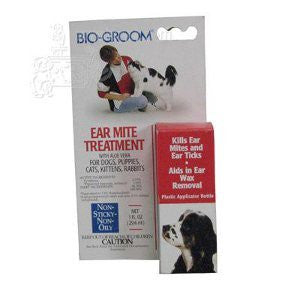 BIO GROOM Ear Mite Treatment for Cats - Canadian Pet Connection