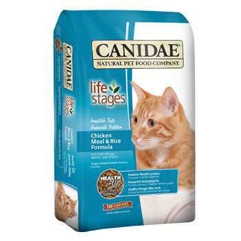 CANIDAE Cat and Kitten Food (Chicken and Rice Formula)- for All Ages