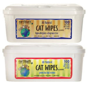 EARTHBATH Grooming Wipes for Cats