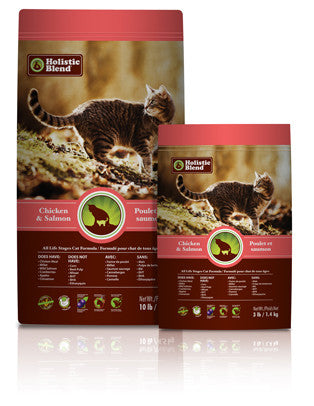 HOLISTIC BLEND Super Premium Cat Food for All Ages - Canadian Pet Connection