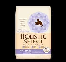 HOLISTIC SELECT Adult Cat & Kitten Food - Chicken