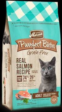 MERRICK Grain Free Adult Cat Food - Salmon (Purrfect Bistro) - Canadian Pet Connection