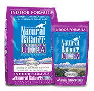 NATURAL BALANCE Indoor Ultra Cat Food - Indoor Cat and Diet Food - for All Ages - Canadian Pet Connection