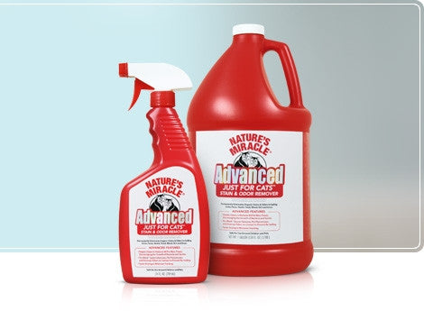 NATURE'S MIRACLE Just for Cats™ Advanced Stain & Odor Formula