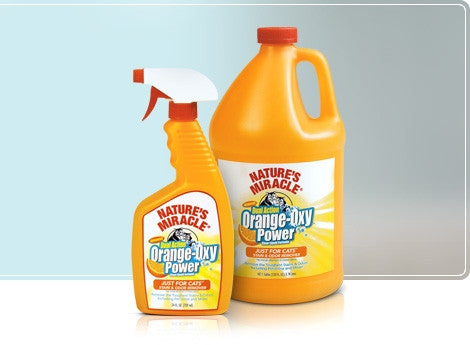 NATURE'S MIRACLE Just for Cats™ Orange-Oxy Stain & Odor Remover