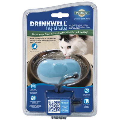 PETSAFE® Drinkwell® Hy-drate™ Pet H2O Filtration System for Cats