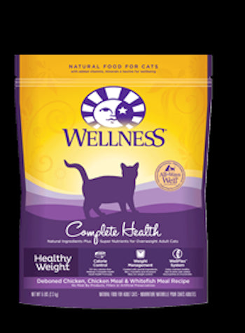 WELLNESS COMPLETE HEALTH Healthy Weight Adult Dry Indoor Cat and Diet Food - Canadian Pet Connection