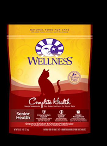 WELLNESS COMPLETE HEALTH Senior Dry Cat Food - Canadian Pet Connection