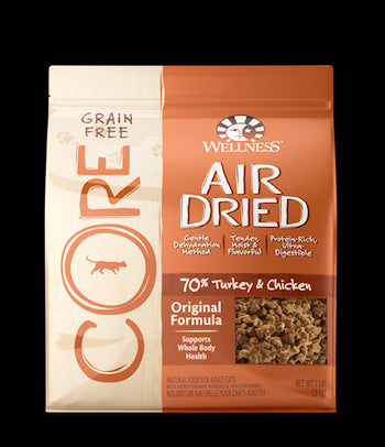 WELLNESS CORE GRAIN FREE Air Dried Original Dry Cat Food for All Ages - Canadian Pet Connection