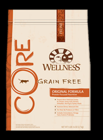 WELLNESS CORE GRAIN FREE Original Dry Cat Food for All Ages - Canadian Pet Connection