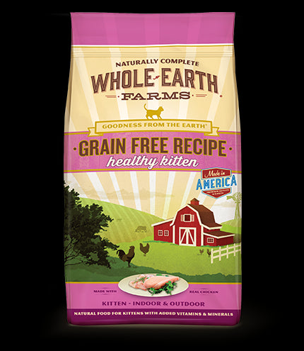 WHOLE EARTH FARMS Grain Free Cat Food by Merrick - Kitten - Canadian Pet Connection