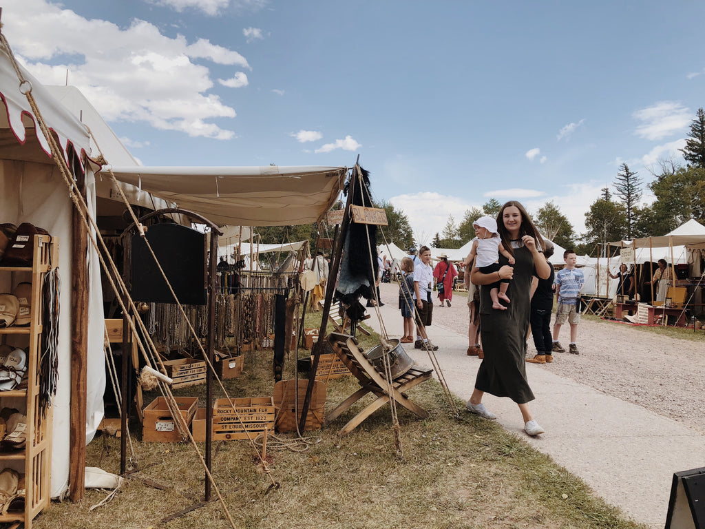 Labor Day Weekend Time Travel: Fort Bridger Mountain Man Rendezvous