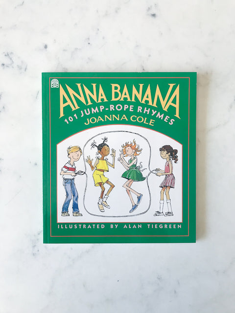 Anna Banana Jump Rope Book