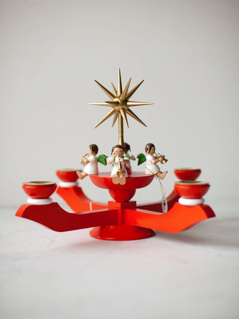 Angels Advent Candleholder<br/>Germany