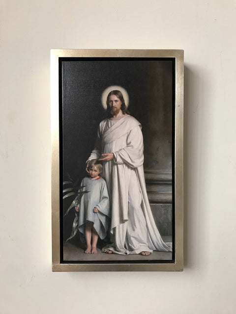 Christ and Child<br/>Giclee Print<br/>Carl Bloch