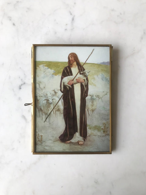 William Henry Margetson<br/> The Good Shepherd<br/> Print