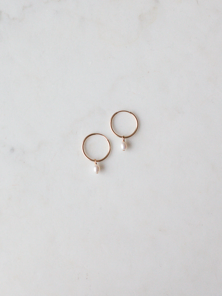 Rosa Endless Hoop Earrings