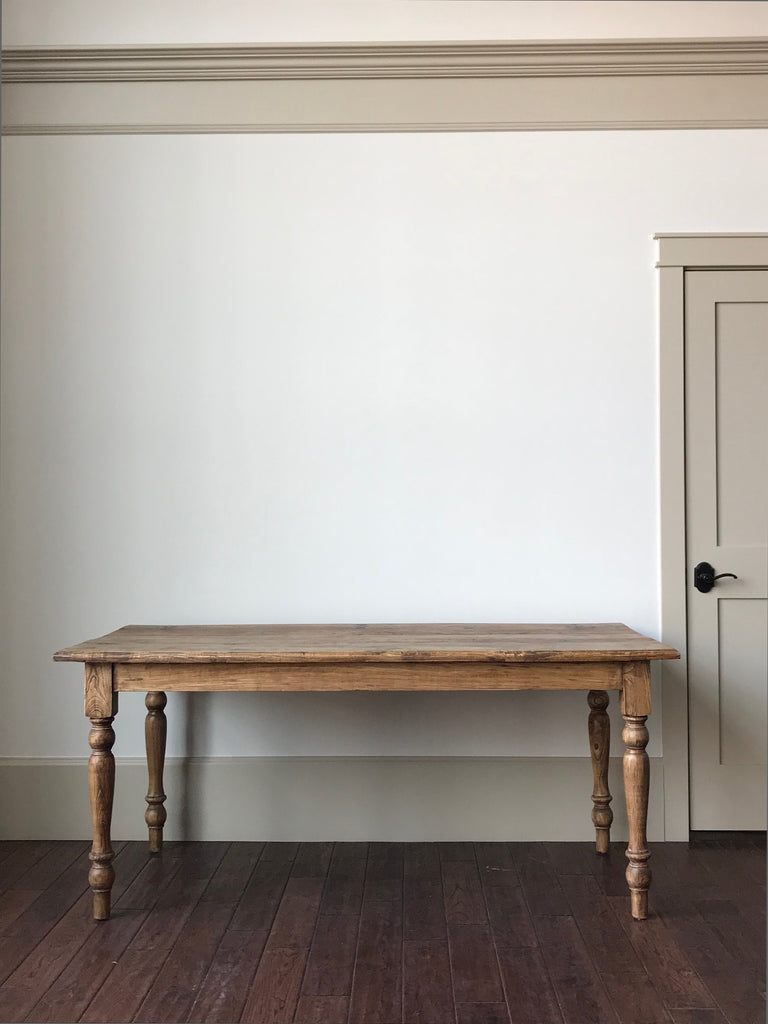 Old Elm Farmhouse Table