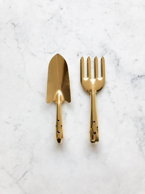 Garden Fork and Trowel