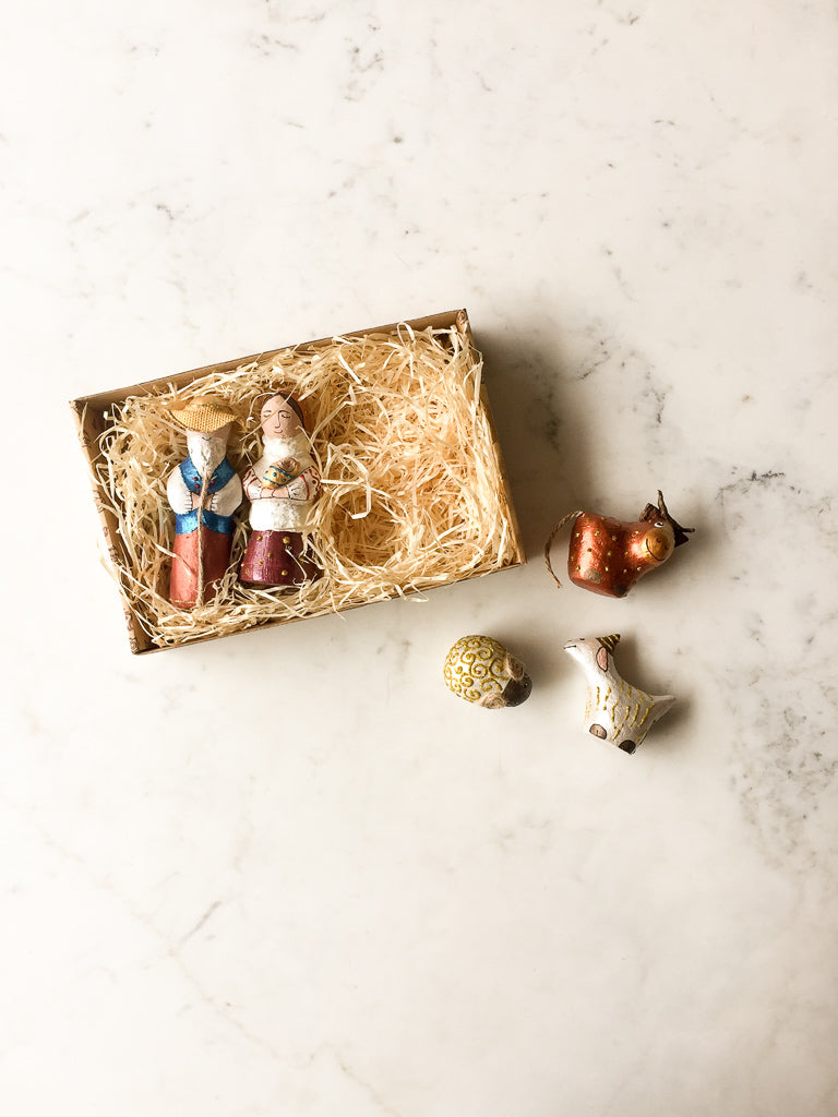Sculpture Nativity (5 persons)