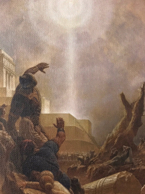 Arnold Friberg<br/>Christ Appears in America