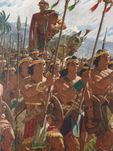Arnold Friberg<br/>2,000 Stripling Warriors