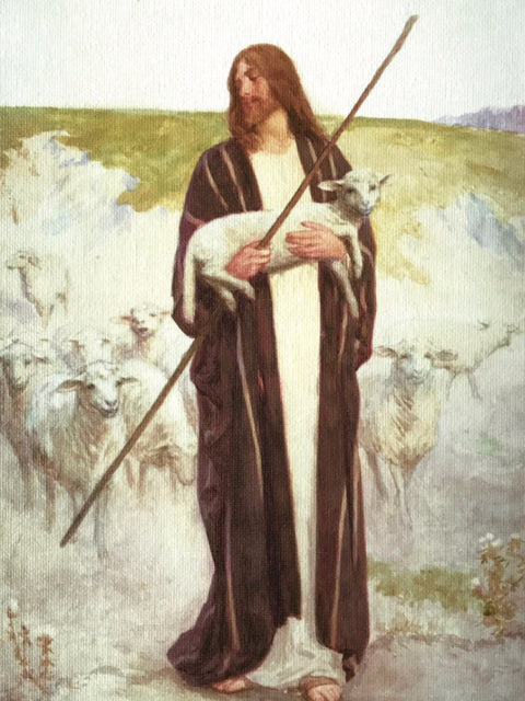 William Henry Margetson<br/>The Good Shepherd